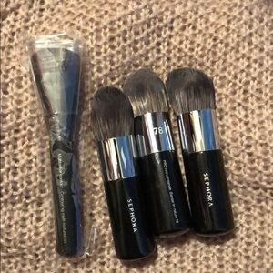 Sephora number 78 and 55 brushes